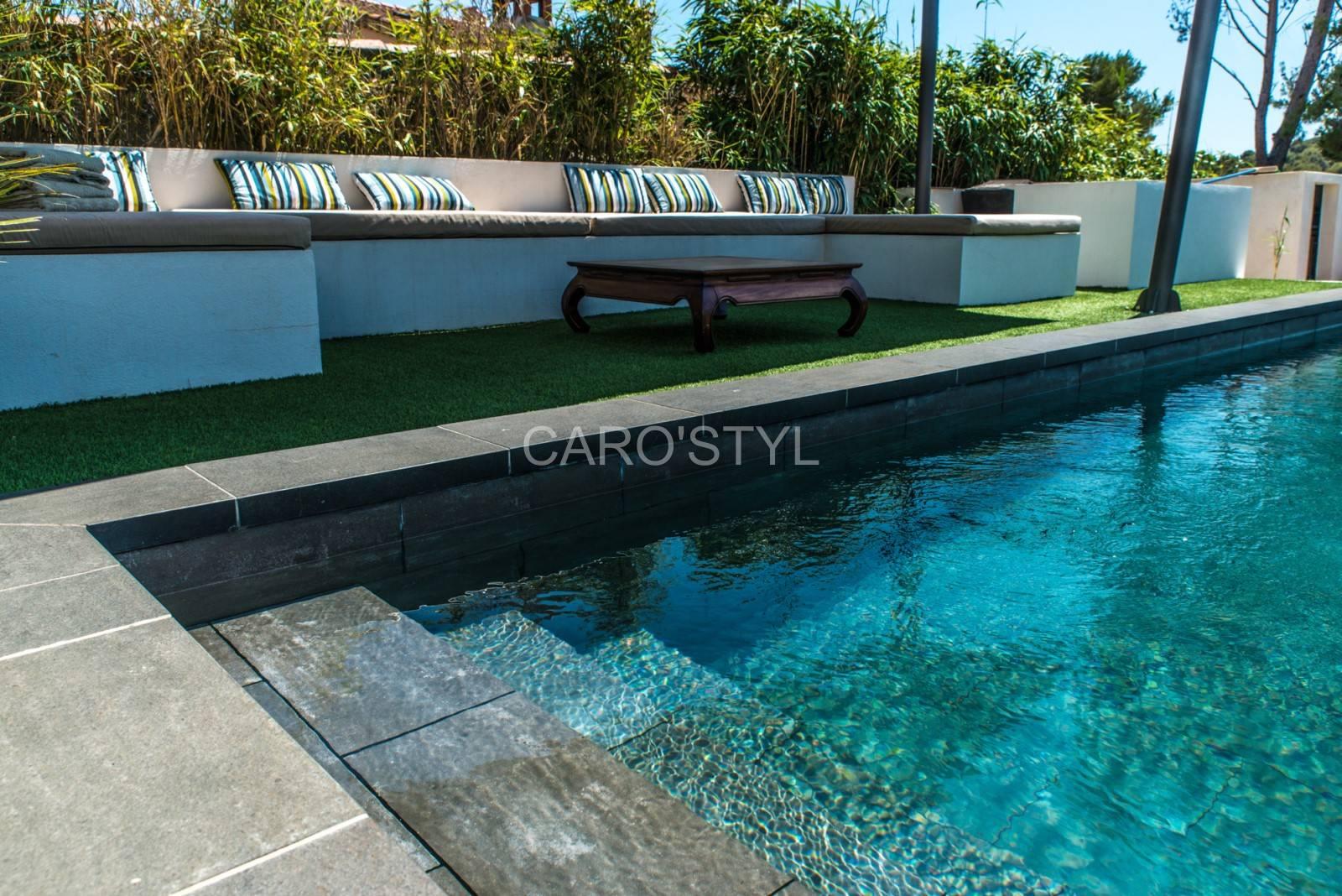 carrelage ext rieur pour piscine gr s c rame pleine masse. Black Bedroom Furniture Sets. Home Design Ideas